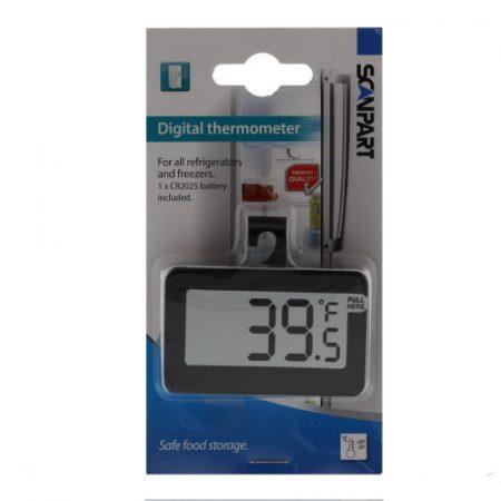Digitális hűtőszekrény és fagyasztó hűtő hőmérő