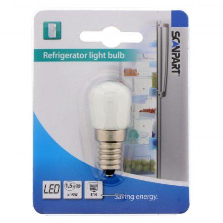 Hűtőszekrény LED izzó E14 1,5W=15W 1db hűtő izzó