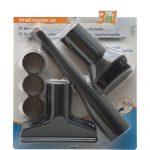 Univerzális mini porszívófej készlet, 3 részes Uni 35 mm, 32 mm-es adapterrel