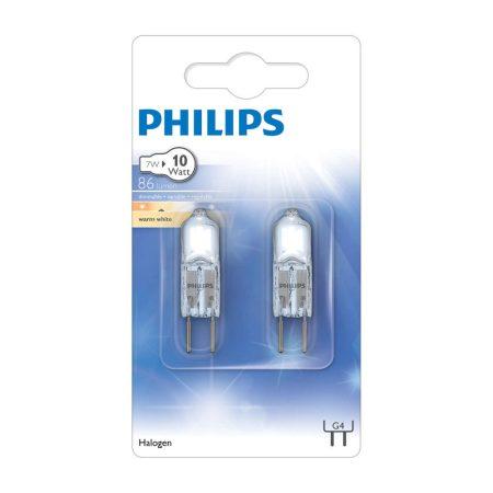 Philips Halogen kapszula 7 W G4 12V CL 2BS/10 szabályozható
