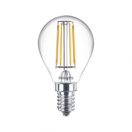 Philips LED classic izzó 40W P45 E14 WW CL ND RFSRT4