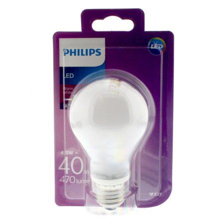Philips LED classic 40W A60 E27 WW FR ND SRT4