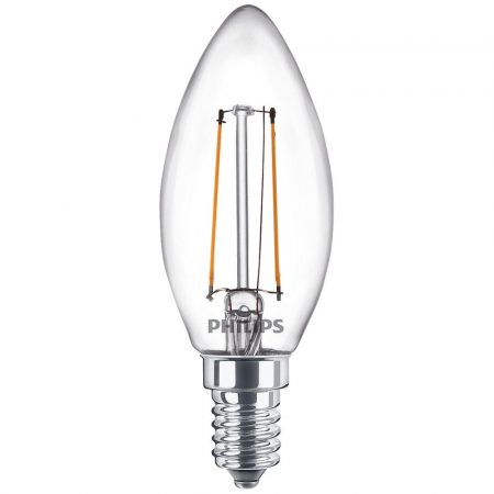 Philips LED 25 W B35 E 14 WW CL gyertya izzó