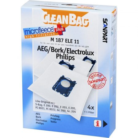 Electrolux Ergospace XXL 60 Porzsák (CleanBag)