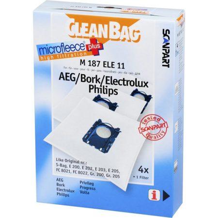 Electrolux Ergospace ZE 2295 Porzsák (CleanBag)