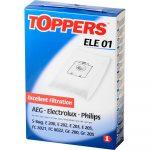 Elektrolux Philips S-Bag porzsák Toppers ELE 01