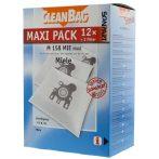 Cleanbag mint Miele GN mikroszálas porzsák 12 db-os + 2 filter Miele porszívókhoz