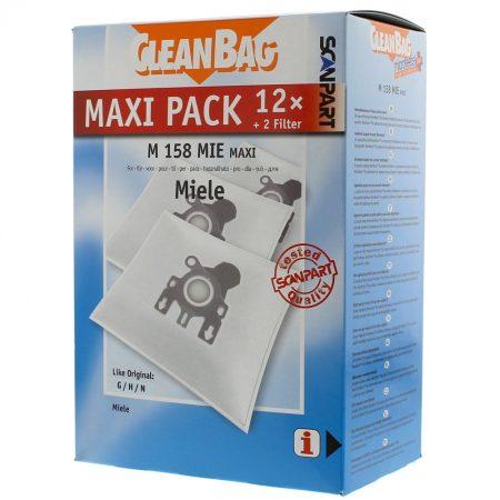 Miele G/N Cleanbag mikroszálas porzsák 12 db-os + 2 filter