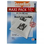 Cleanbag mint Bosch Siemens Typ G All mikroszálas porzsák 12 db-os + 2 filter
