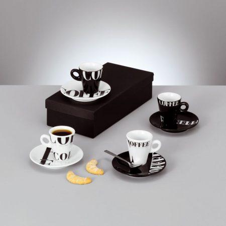 Espresso készlet 8 részes Coffee-style