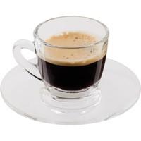 Espresso üvegpohár kávéscsésze készlet 2 db-os