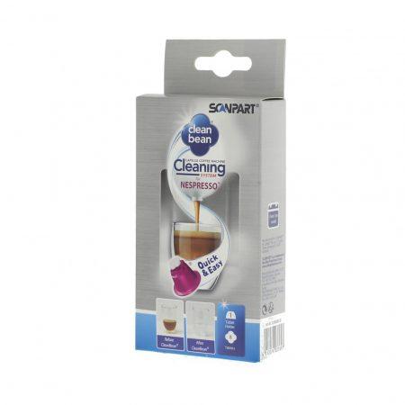 Nespresso kávégép tisztító készlet