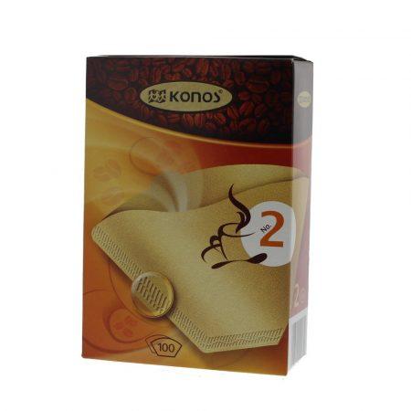 Papír kávéfilter 2-es méret 100 db