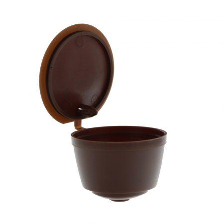 Újratölthető kávékapszula 3db Nescafe Dolce Gusto kávégéphez