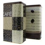 Kávétartó doboz 1 kg szemes kávéhoz