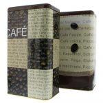 Kávétartó aromatartó doboz 1 kg szemes kávéhoz