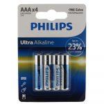 Philips Ultra Alkaline elem 4db AAA LR03E4B