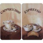 Univerzális fedőlap kávés illusztrációval