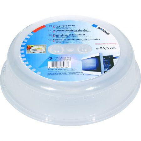 Univerzális mikrohullámú sütő fedő 26,5 cm